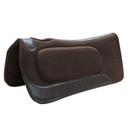 "Showman ® Showman® 31""x 31"" Brown felt built up pad"