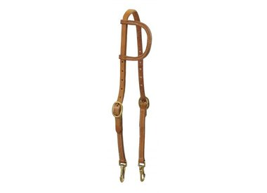 Work and Harness Leather Headstalls