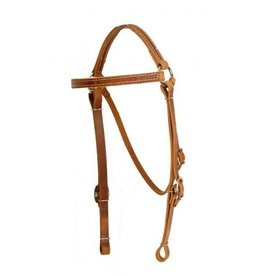 Showman ® Showman ® Perfect fit harness leather headstall.