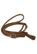 Showman ®   Showman ® 8ft Argentina cow leather contest reins.