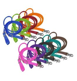 "Showman ® Showman ® 3/4"" x 8ft nylon contest rein with scissor snap end."