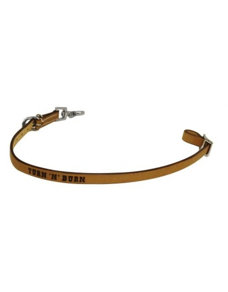 Showman ®  Showman ® Turn 'N' Burn branded wither strap.