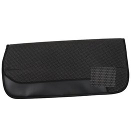 "Showman ® Showman™ oversize 32"" X 32"" Waffle perforated air flow non slip saddle pad with wear leathers."