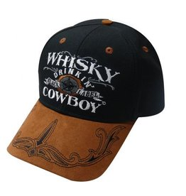 """ Whisky Drinking Cowboy"" baseball hat."