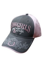 "Showman ® "" Cowgirls get down & dirty"" baseball hat."