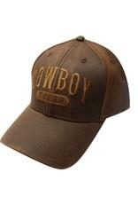 """Showman ® """" Cowboy Tough"""" baseball hat."""