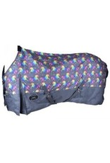 Showman ® Showman ® Unicorn Print 1200D Waterproof and Turnable Turnout Sheet.