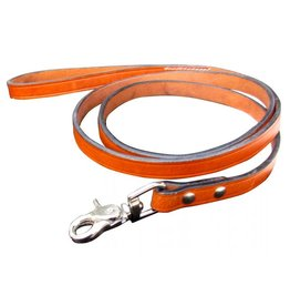 Showman ® Showman Couture ™ Genuine Leather medium oil leather dog leash.