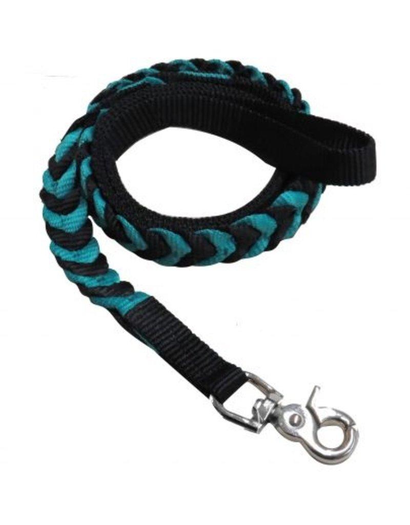 """Showman ®  Showman Couture ™ 55"""" Braided nylon dog leash."""