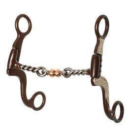 "Showman ® Showman ® 5"" Twisted mouth with copper roller."