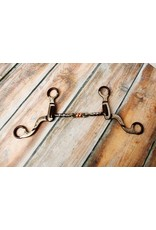 """Showman ® Showman ® 5"""" Twisted mouth with copper roller."""