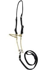 Showman ® Showman ® Lariat rope tie down with black nylon cheeks.