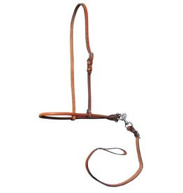 Showman ® Showman ® Argentina Cow Leather Adjustable Smooth Leather Noseband and Tie Down.
