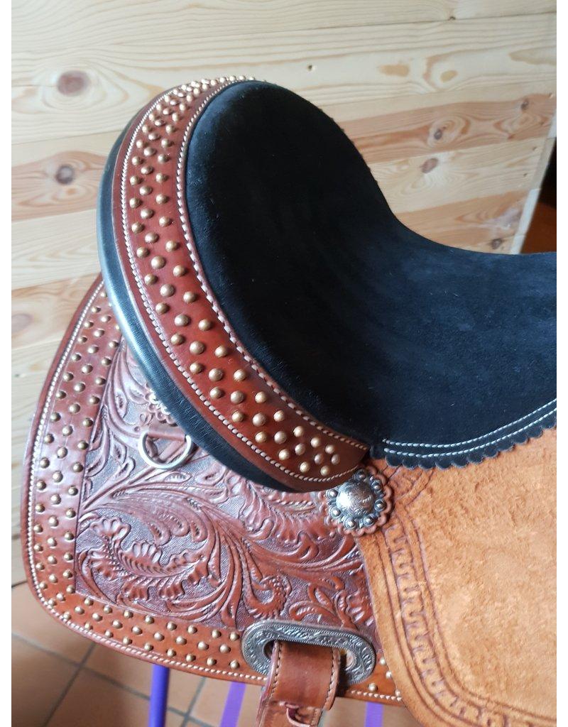 Twisted C Twisted C Barrel saddle