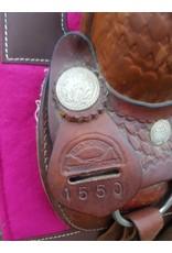 Redhorns 2nd hand saddle 16 inch