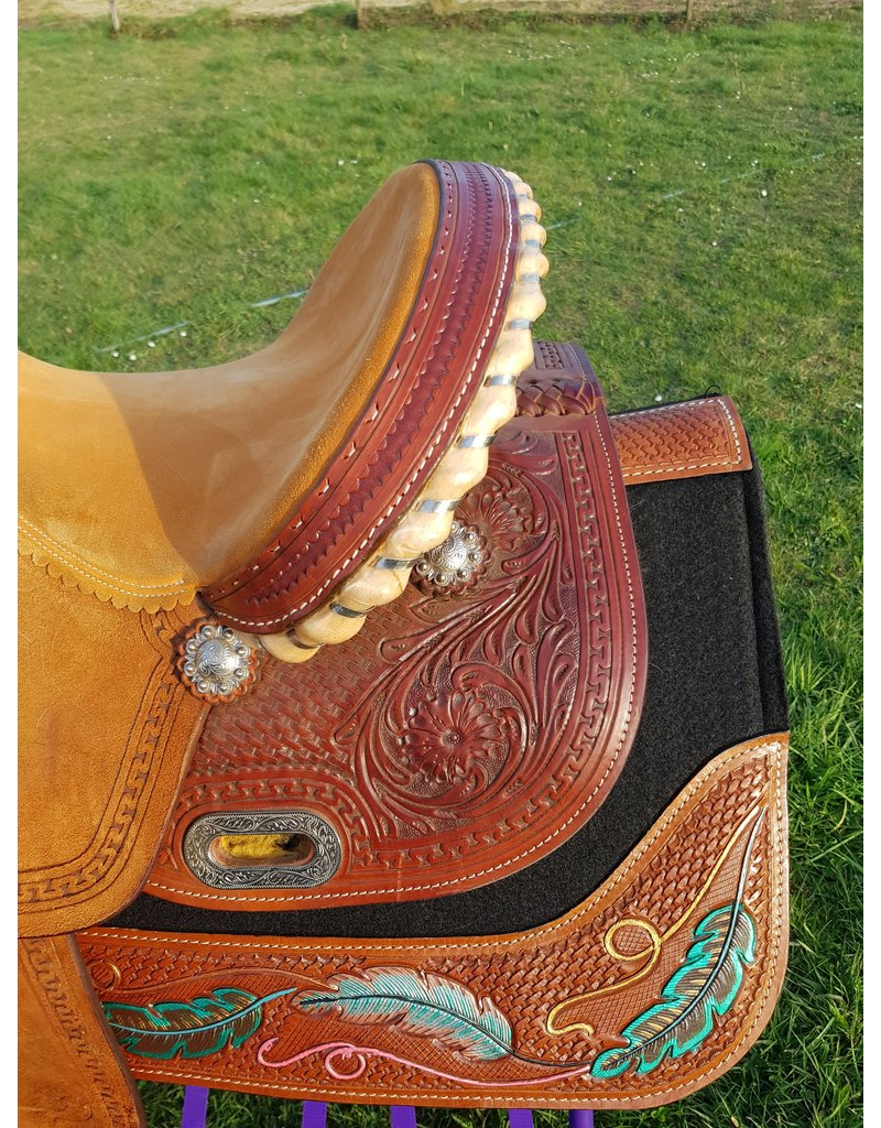 Twisted C Twisted C Second hand Barrel  saddle