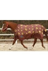 Showman ® Showman 1200 Denier Sunflower Print Adjustable Neck Heavy Weight Turnout Blanket- 300 Grams Fill