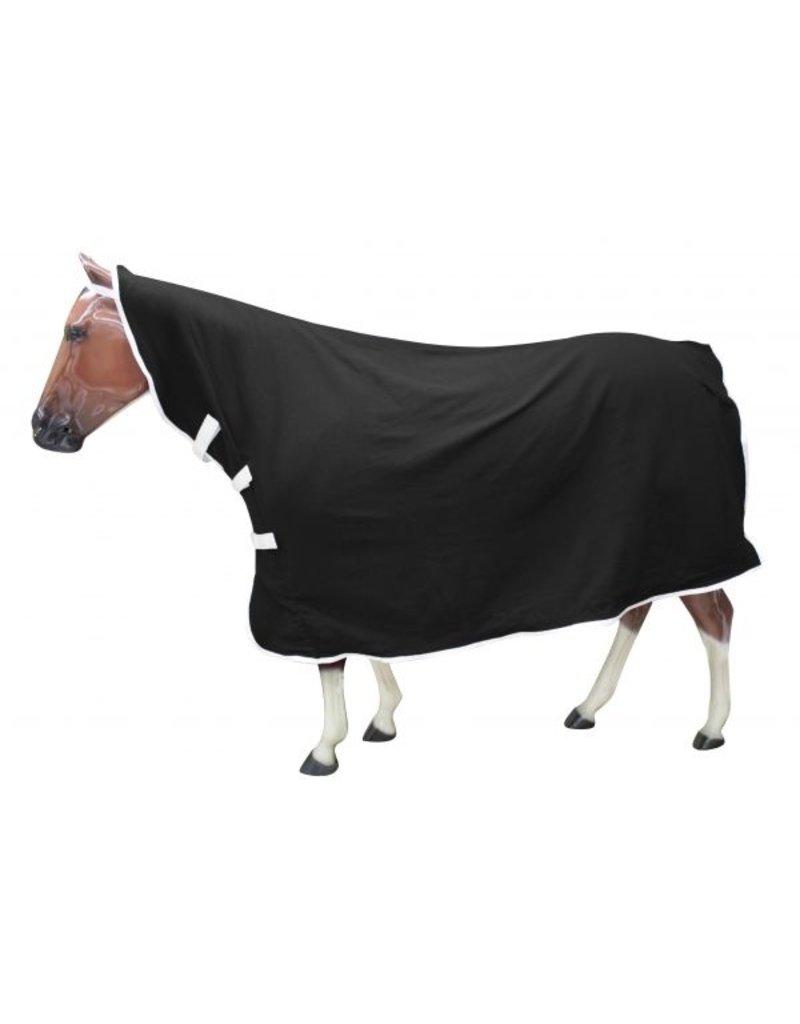 Showman ® Showman ® Contoured polar fleece horse cooler with velcro front.