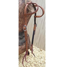 Cattleman's Headstall  Bubble tooling