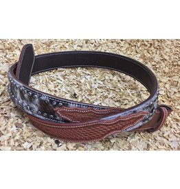 GVR Leather belt with COWHIDE
