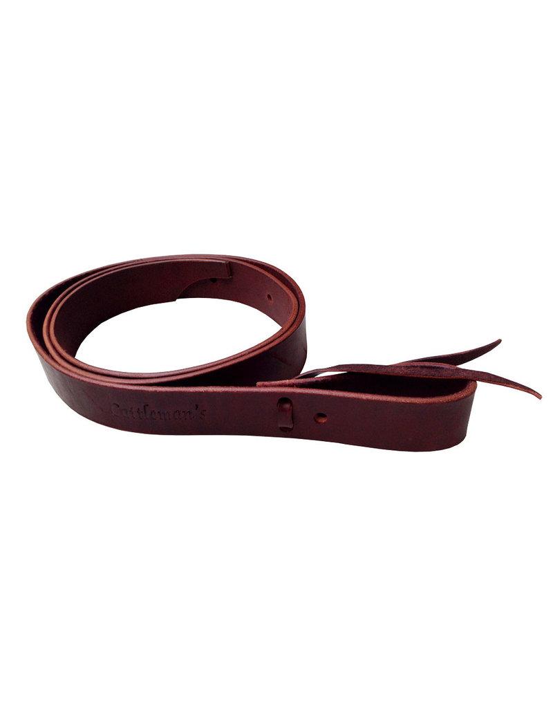 Cattleman's Cattleman's leather latigo strap