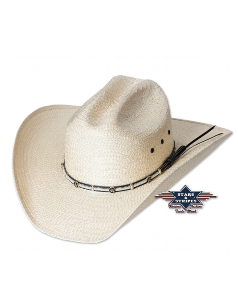 Stars and Stripes Curtis Straw Hat