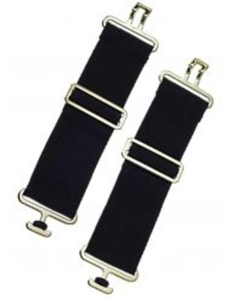 """Showman ® Showman® Belly Surcingle Extender Straps. These easily attach to the blanket straps  to add extra length. Extends from 8"""" to 12"""". Sold in pairs of two."""