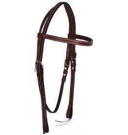 Showman ® Showman ® Browband Leather Headstall.