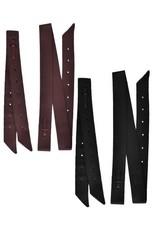 "Showman ® Showman ®  Premium Quality Nylon Off Billet and Tie Strap Set. 2ply premium webbed nylon. Off billet has 6 pre-punched holes and measures 18"" x 1.75"". Tie strap measures 6' x 1.75""."