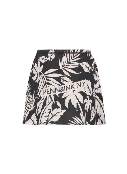 PENN&INK Skirt AOP S18F226K Grey/Grid