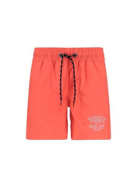 Beach Short Yari Coral Punch Red