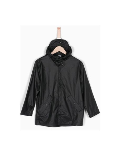 Raincoat Drop Black