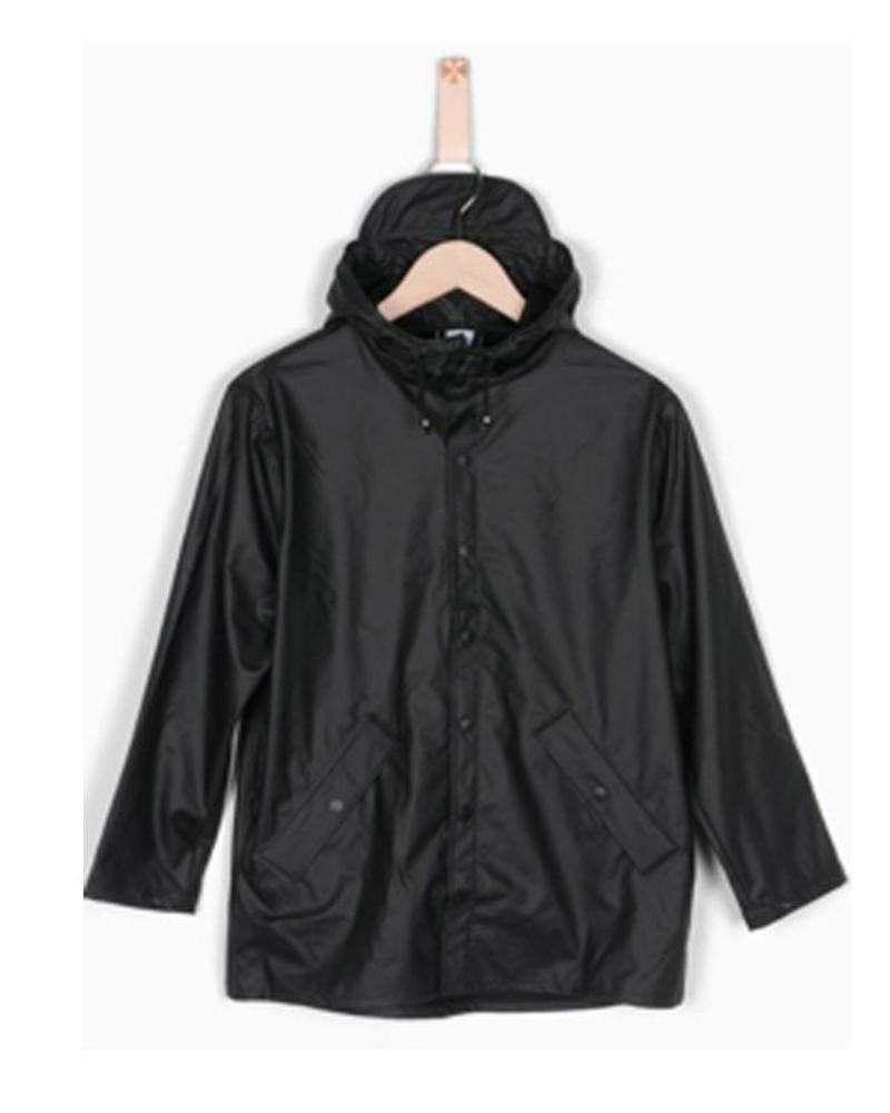 Grunt Grunt Raincoat Drop Black