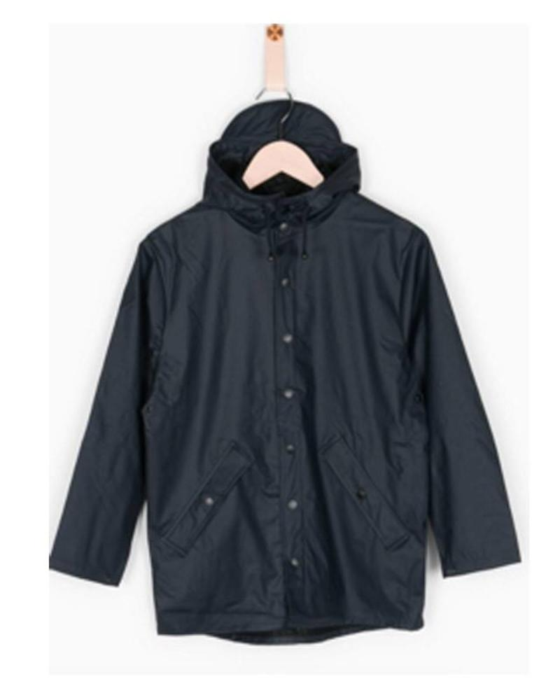 Grunt Raincoat Drop Navy