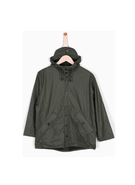 Raincoat Drop Green