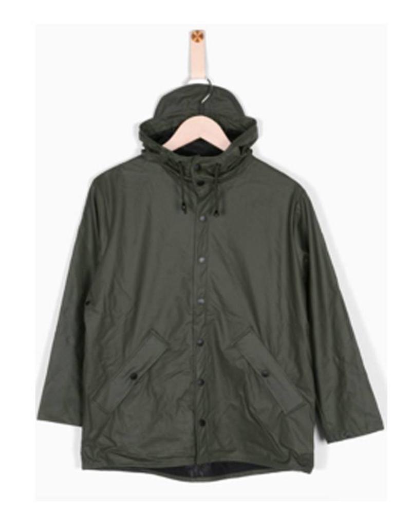 Grunt Grunt Raincoat Drop Green