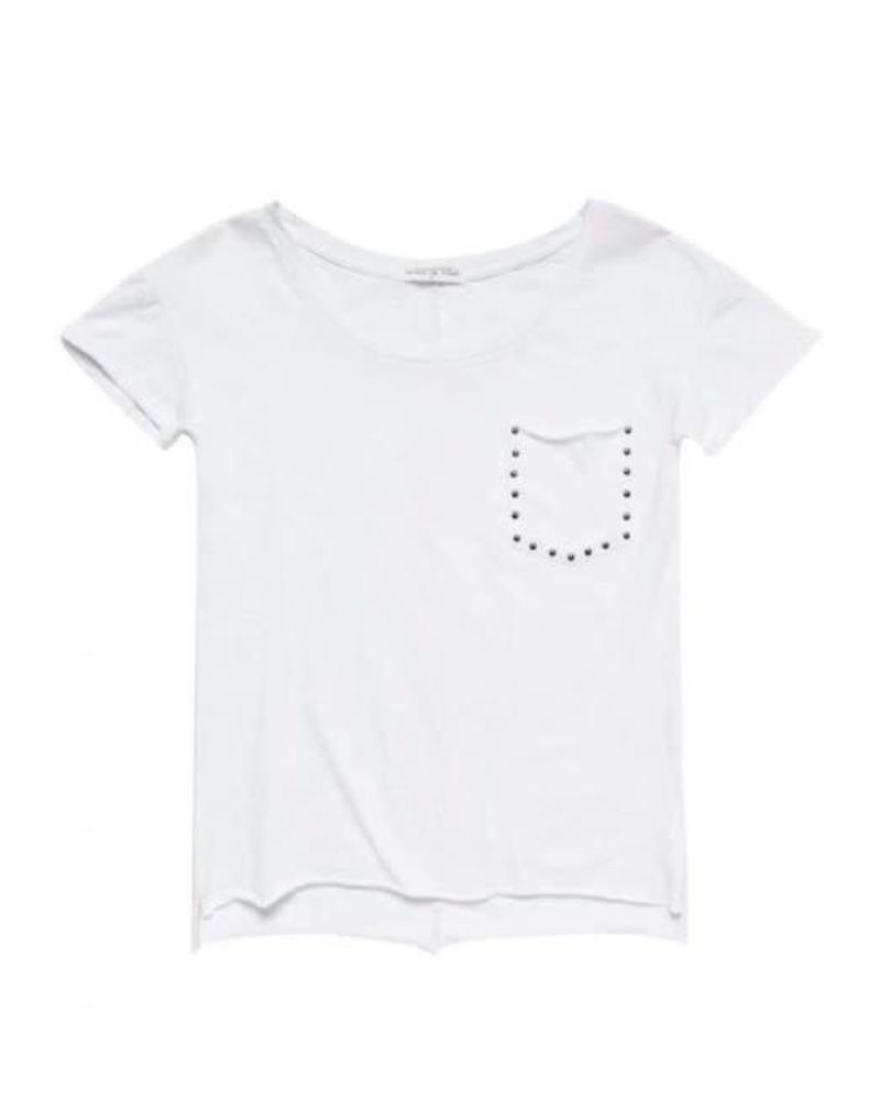Circle of Trust Circle of Trust  T-shirt Reese White Katoen