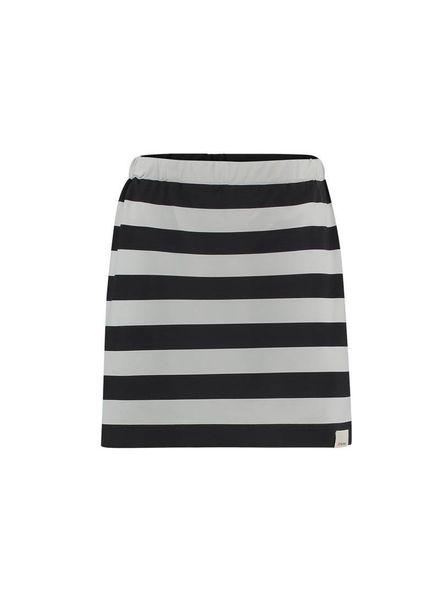 PENN&INK Skirt Stripe S18N229K Grid/grey  Elastan