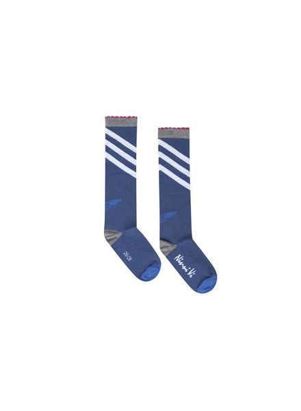 Socks NVSS18-36 Dark Blue Katoen Elastan