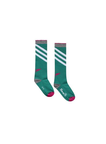Socks NVSS18-36 Green Katoen Elastan