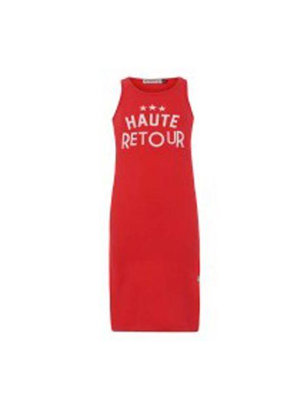 Retour Jeans Dress Assunta Bright Red Katoen