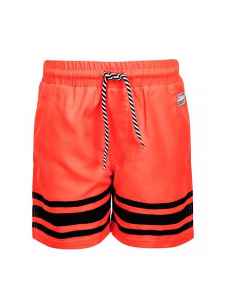 Retour Jeans Swim Short Boyd Neon Orange