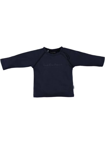 b.e.s.s. longsleeve Boy I'm so Handsome blue Katoen