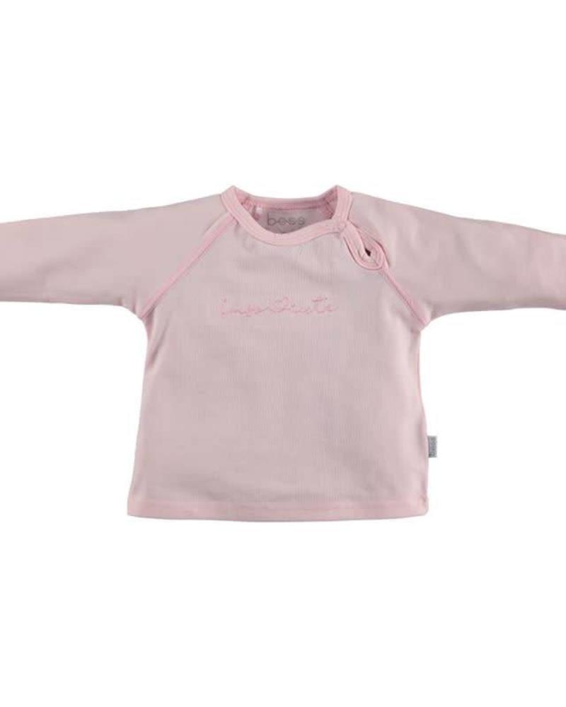 b.e.s.s. Bess longsleeve I´m so cute pink Katoen