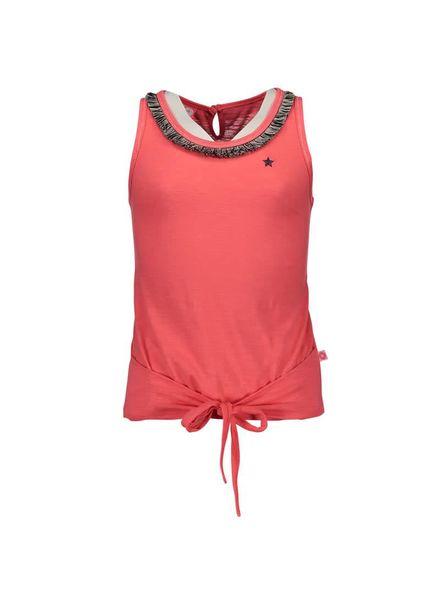 Dress Like Flo neon knotted F702-5489 roze Katoen
