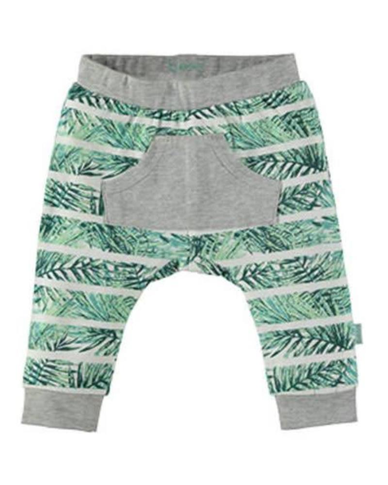 b.e.s.s. Bess Jersey Pants Boys AOP 1741 002 Katoen