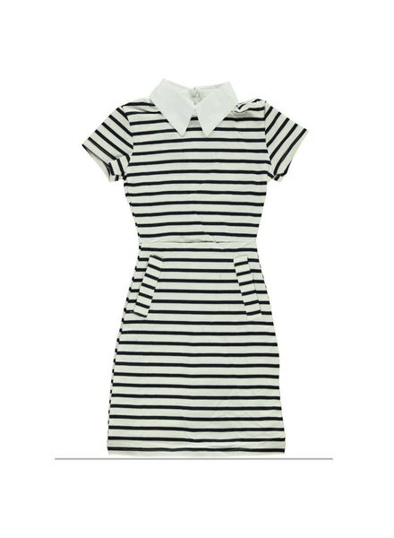Dress Dune navy-white