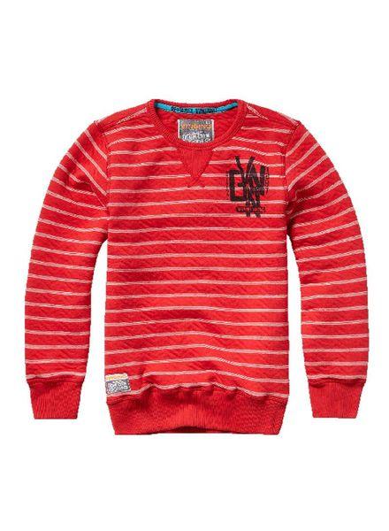 Vingino Sweater Nichel Burnt Red Katoen