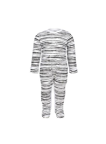 Jumpsuit Riva Stripe White Katoen Elastan