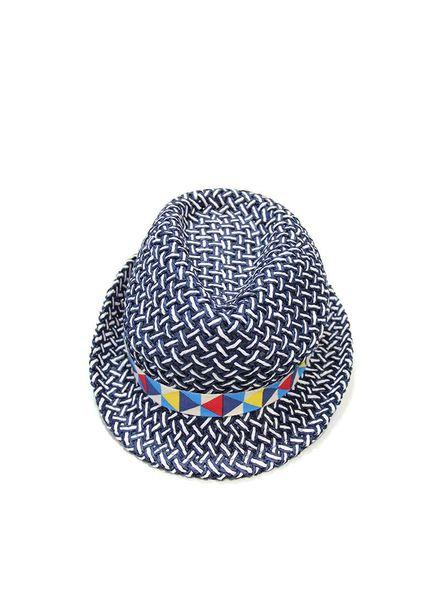 Mous hat blue